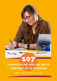Voorpagina 107 THEMATISCHE HOKJES - COPI