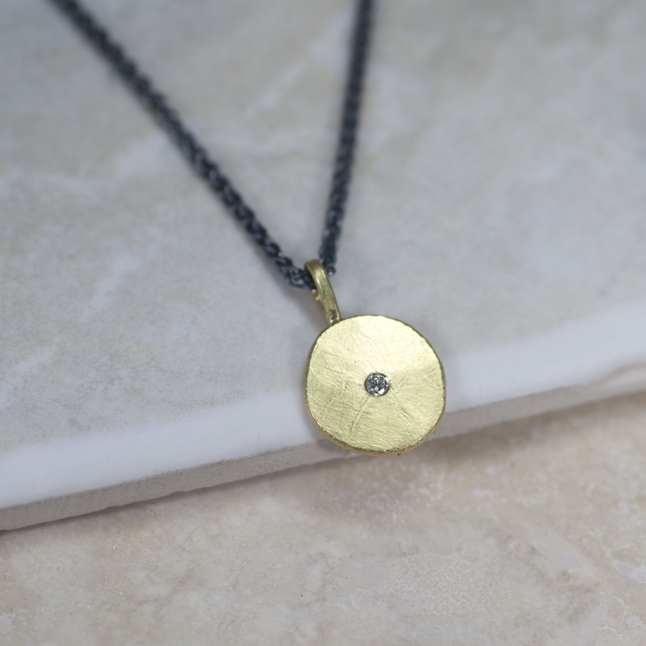 Large Sun & Star pendant