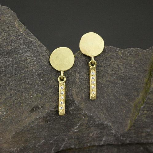 Diamond Dancer earrings
