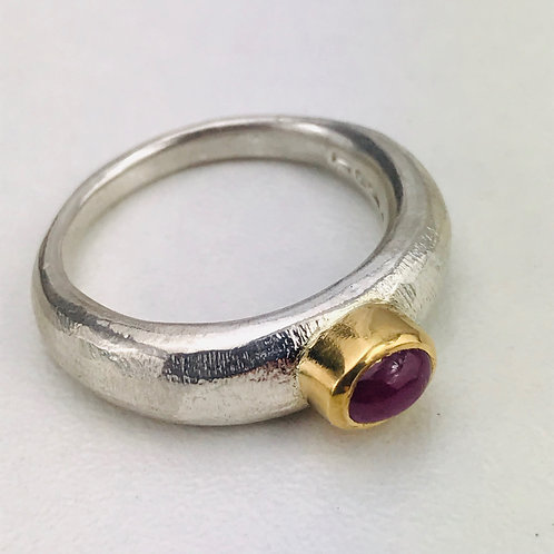 Ruby sand cast ring