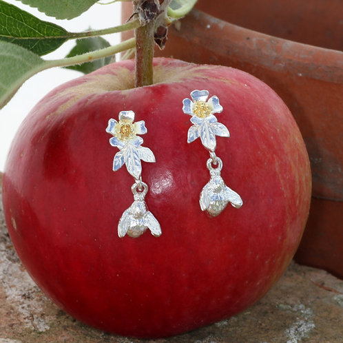 Blossom and Bee earrings
