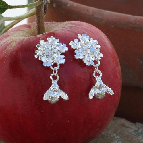 posey and bee earrings
