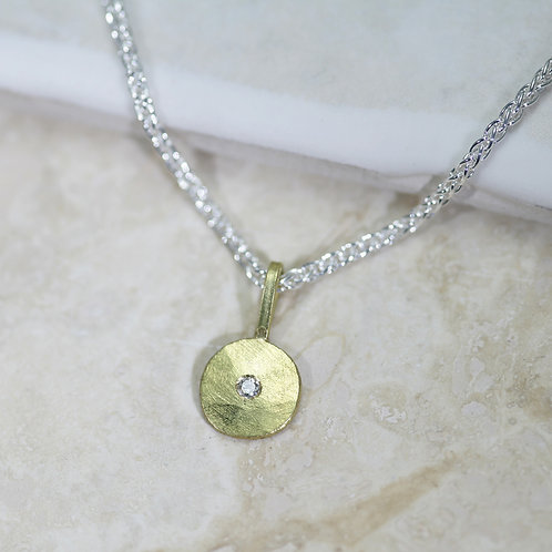 Sun and Star necklace (small)