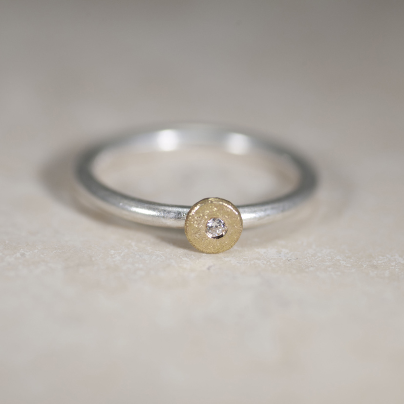 Sun and Star ring