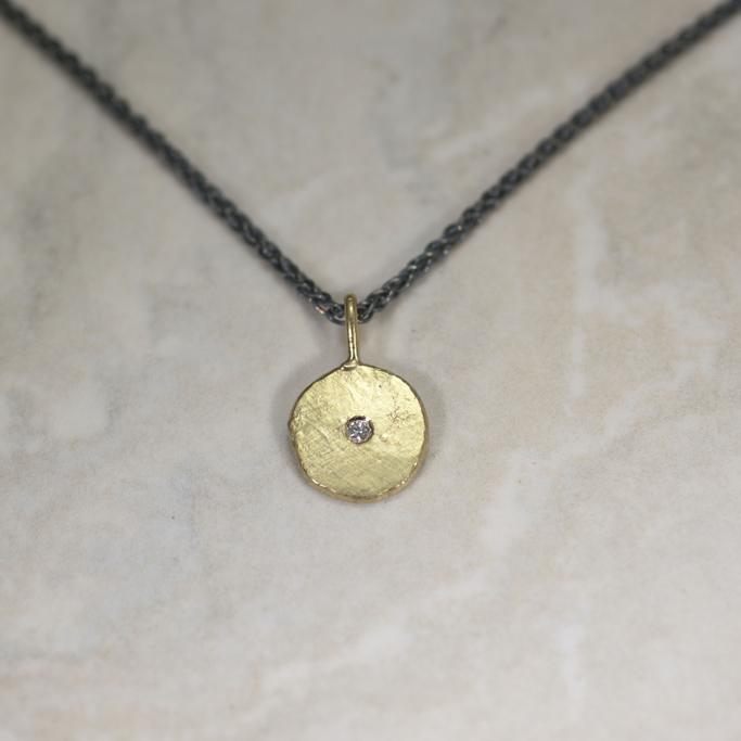 medium Sun & Star pendant