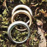 Organic shaped rings