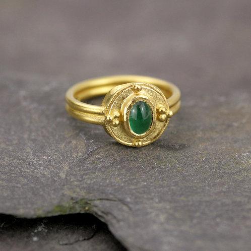 Byzantine Emerald Ring