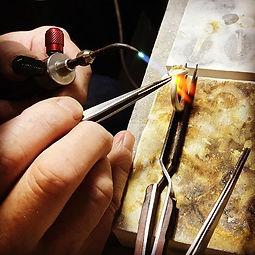 soldering jewellery