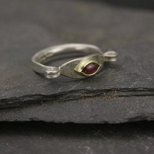 Tourmaline Eye Ring
