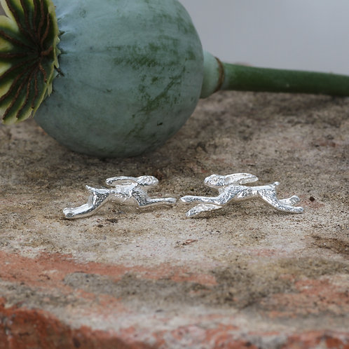 Galloping Hares earrings