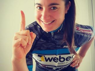 LEONARDI FESTEJÓ EN LA SEGUNDA DE LA LADIES POWER VIRTUAL CYCLING CUP