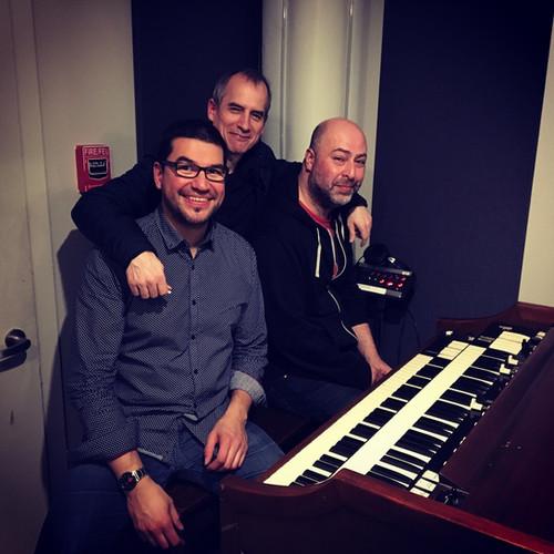 Organ Trio Recording