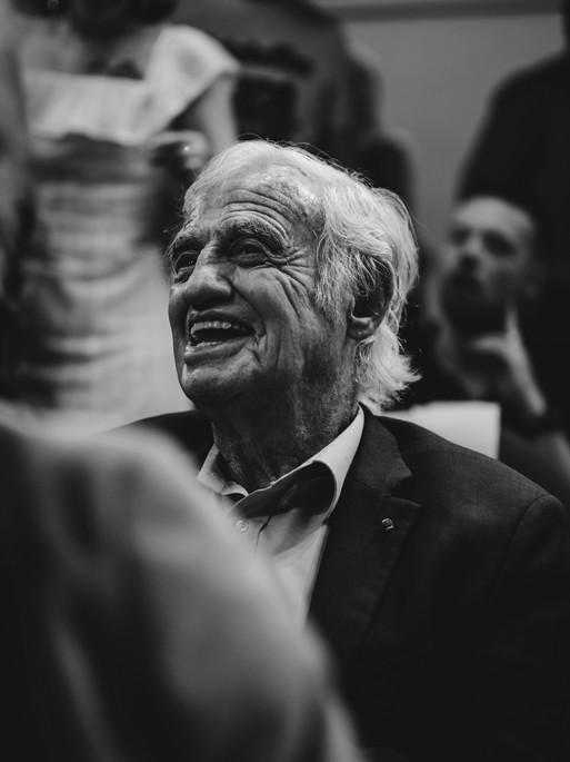 Vernissage d'Olivier Palade - Jean-Paul Belmondo
