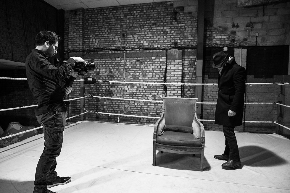 Making-of - Rencontre avec Olivier Palad