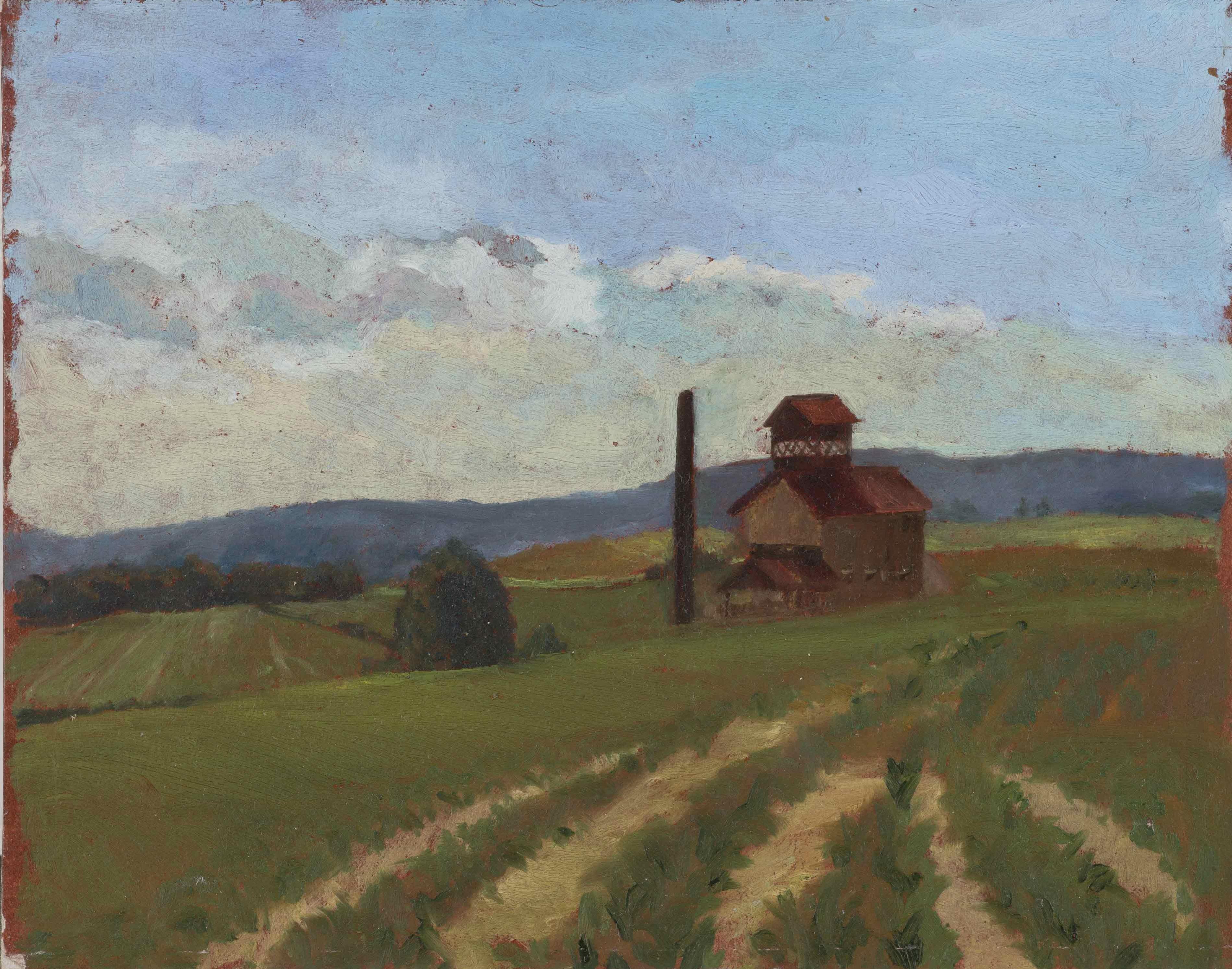 La distillerie de Frémainville