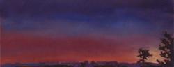 Fresnes, lever du soleil 8h