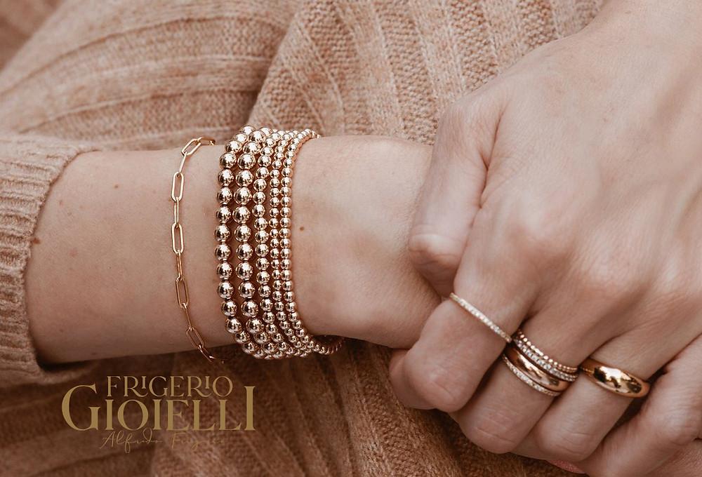 Frigerio Gioielli laboratorio orafo bracciali d'oro