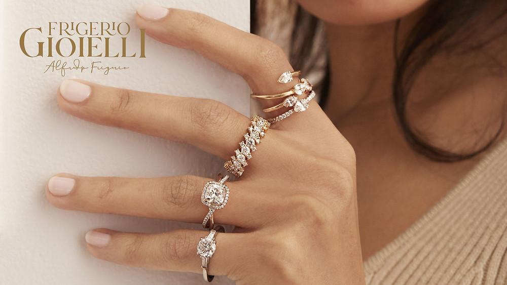 anello con diamante, laboratorio orafo