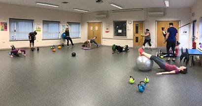 Exercise class cardiff