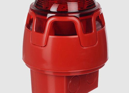 Оповещатель пожарный свето-звуковой СWSS-RB-W8