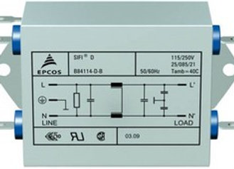 Epcos B84114-D-B110, 2x10 A, 250 В, Сетевой фильтр