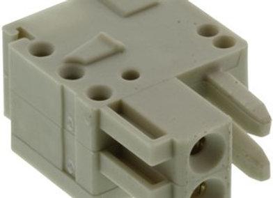 Wago 734-102 Соединитель розетка 2-конт. Расстояние между выводами 3,5 мм