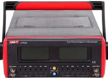 Вольтметр цифровой переменного тока UT632  2-х канальный (от 4мВ до 400В)