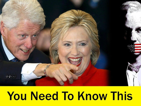 BOOM!!! Here's The Proof Hillary Clinton is a Very Evil Witch.