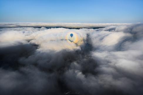 雲海×ブロッケン現象