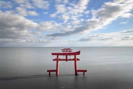 佐賀 海中鳥居