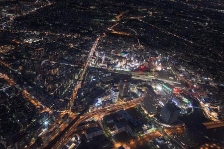 横浜 ヘリ空撮