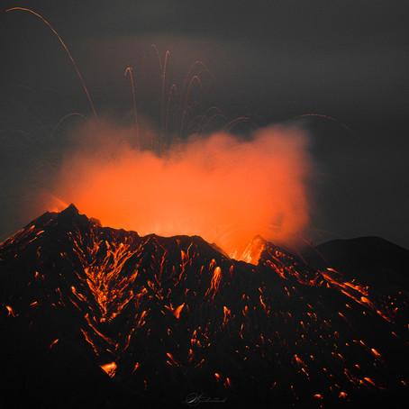桜島の噴火を狙いにいった話。