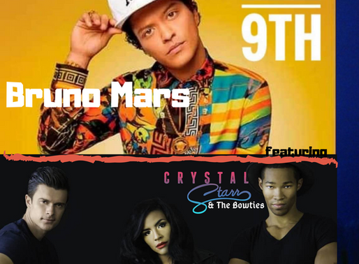 Bruno Mars and Crystal Starr