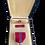 Thumbnail: Bronze Star Medal i original eske med bånstripe og pin