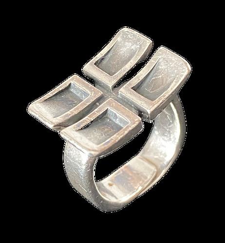 Hans Walløe regulerbar ring 925s