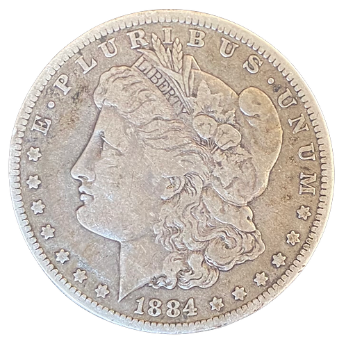 Morgan Dollar 1884 USA Kv.1