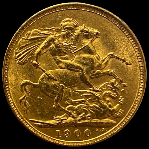 1 Gold Sovereign 1900 England 7,98g .916,7