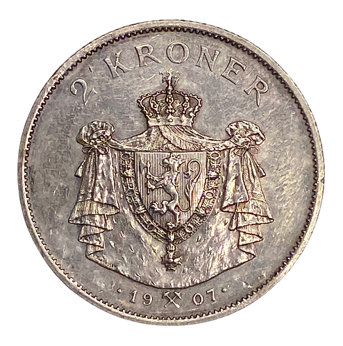 2 kr 1907 god kv.1