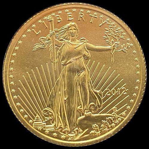 1/4 oz Gold Eagle 2012 USA