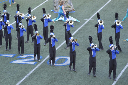 The NBHS Mighty Unicorn Band