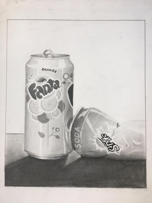 Still Life - Soda Cans