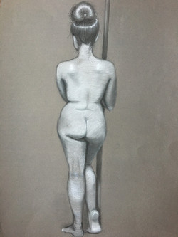 Life Drawing - Nude