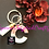 Thumbnail: Handcrafted Letter Keychains - Rose Gold