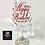 Thumbnail: Custom Wine Glass With Rhinestones