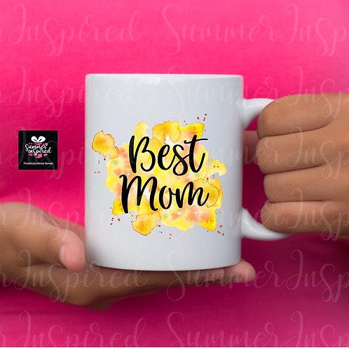 Watercolor Custom Design Mug