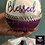 Thumbnail: Custom Wine Glass - Blessed - Glitter - Rhinestones