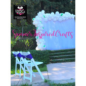 SIC Balloon Garland - Wedding -  White2.