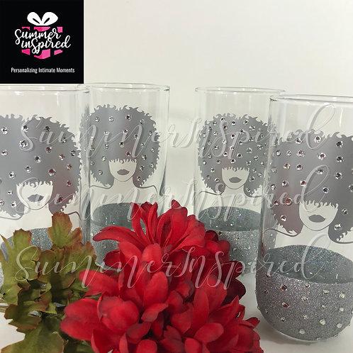 Custom Glass Set (set of 4)