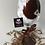 Thumbnail: Chocolate Diamond Glitter Wine Glass Set - Custom Wine Glasses