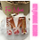 Thumbnail: Handcrafted Letter Keychain - MOM